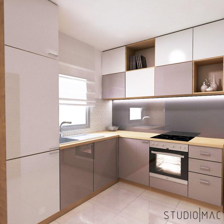 Projekt Kuchni 5 M2 Poznan Studio Mac